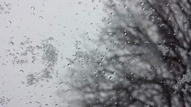 Жителей Удмуртии предупредили о дожде со снегом и сильном ветре
