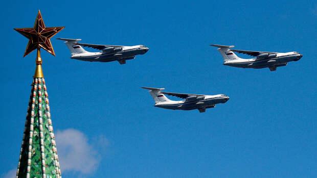 Погода 9 мая в Москве может помешать воздушной части Парада Победы