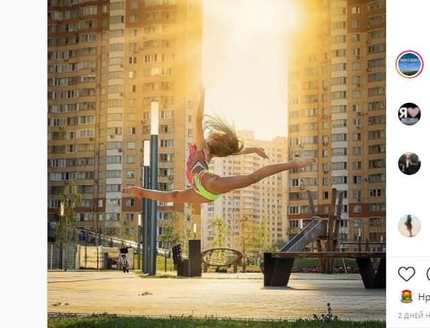 Фото дня: прыжок в рассвет