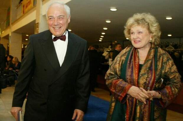 Екатерина Орлова и Владимир Познер. / Фото: www.starhit.ru