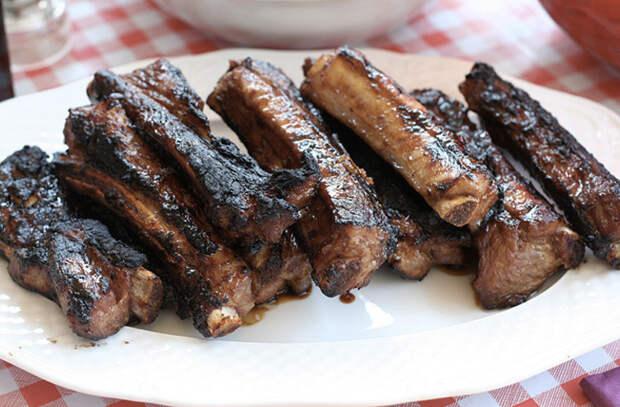 Включаем в обычной духовке режим гриля и готовим еду как ресторане