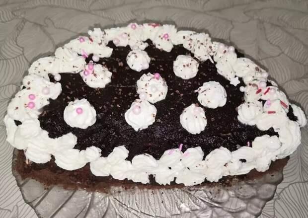 Как приготовить торт шоколадный с вишней