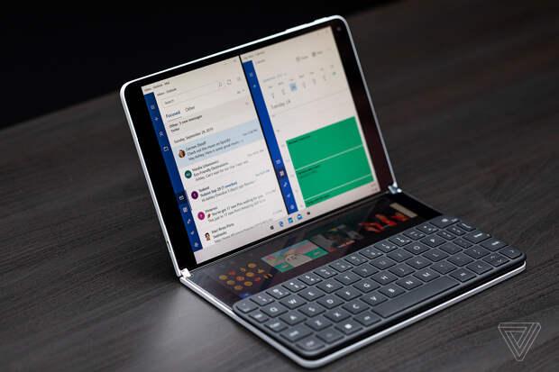 Видео: внутренняя конструкция двухэкранного планшета Microsoft Surface Neo