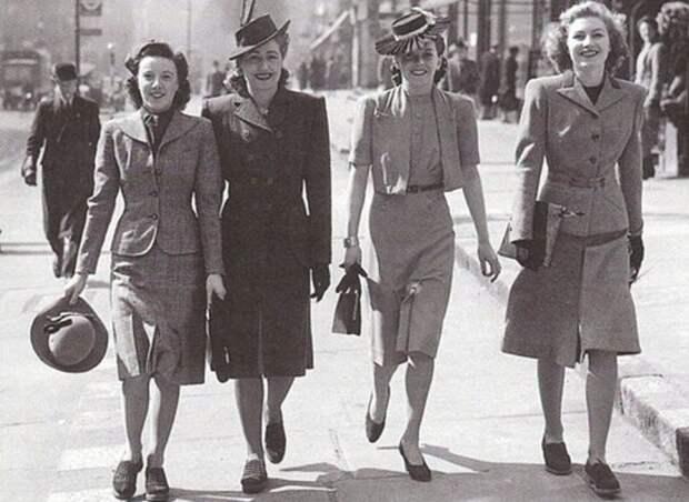 История моды - что дамы носили в СССР в 50-х
