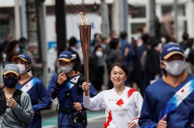 Власти Осаки не хотят проводить эстафету олимпийского огня из-за COVID