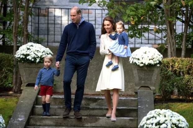 Принц Джордж и принцесса Шарлотта стали гостями на детском празднике в Канаде