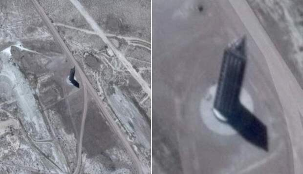 Загадочный небоскреб возле Зоны 51