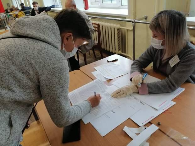 Явка избирателей на выборах в Гордуму Ижевска за два часа до закрытия участков составила 15,62%