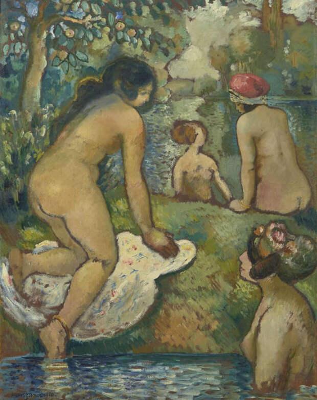 Обнаженная натура в изобразительном искусстве разных стран. Часть 172.