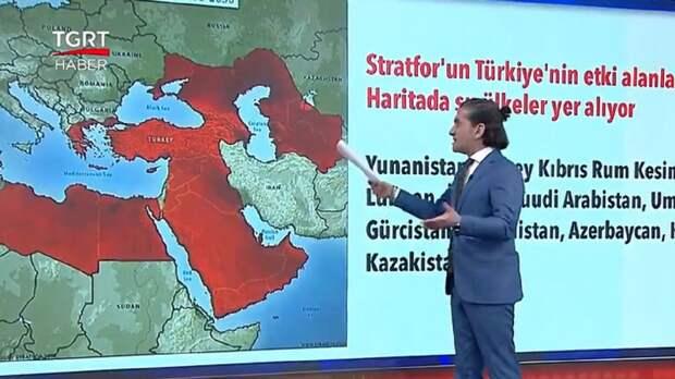 Турецкие фантазии с подачи «теневого ЦРУ»: мечты Анкары о Крыме и Кубани