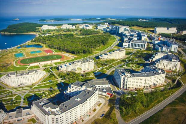 Кампус Дальневосточного университета, Владивосток