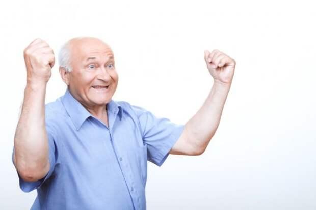 Счастливый пенсионер: стоковые фото, изображения | Скачать Счастливый  пенсионер картинки на Depositphotos