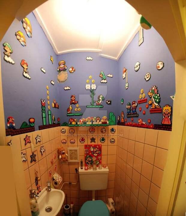 Марио в детской (подборка)