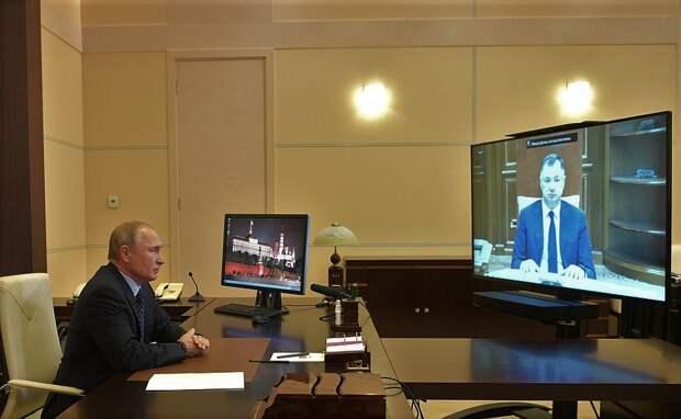 Хуснуллин доложил Путину о спасении Крыма
