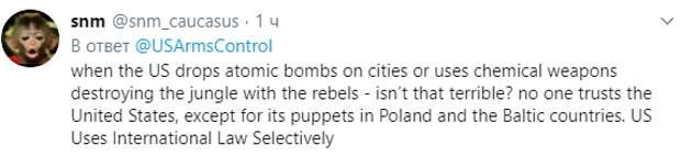 """В Сети объяснили чиновнику из США, зачем России пугающие его """"Посейдон"""" и """"Буревестник"""""""