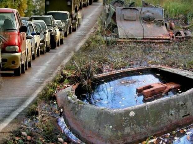 Через САМЫЙ ЦЕНТР Долины смерти проложена трасса М-11. Подвиг советских танкистов, по которому теперь ездят машины (2021)