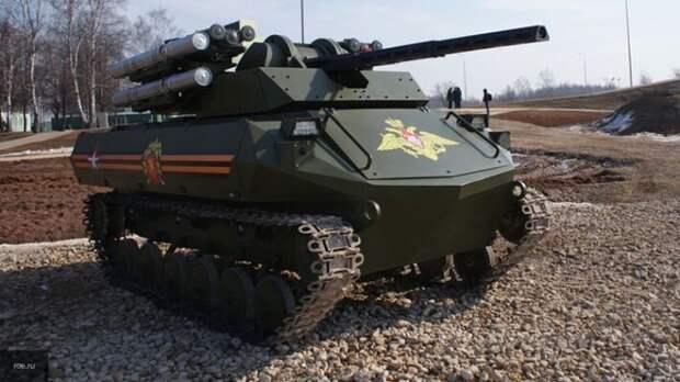 В Польше восхитились новыми российскими роботанками