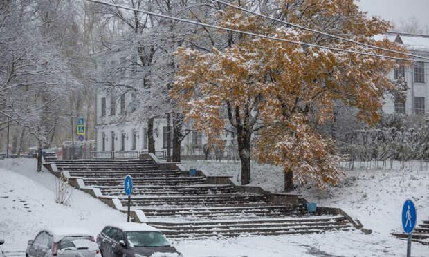 Наследующей неделе вАрхангельске выпадет снег