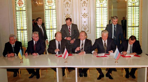 Беловежские соглашения должны быть полностью денонсированы.