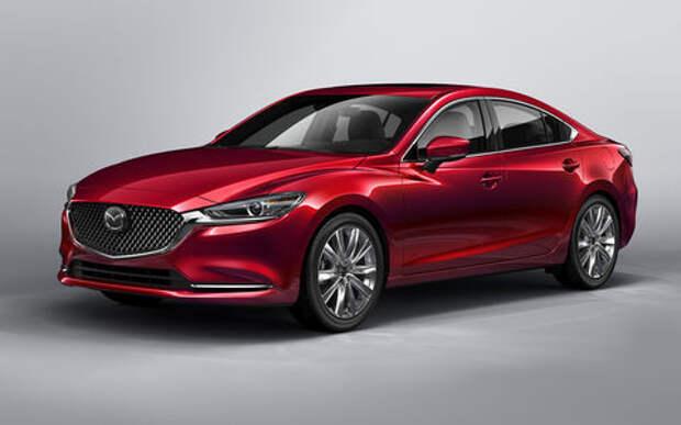 Обновленная Mazda 6 — дорого и богато
