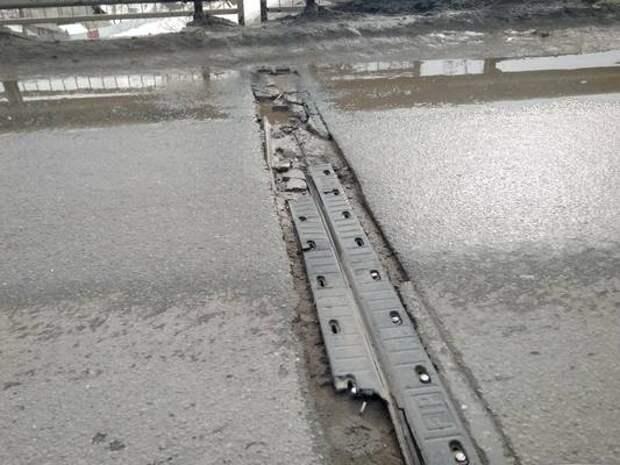 Мост отремонтировали, но замечания есть