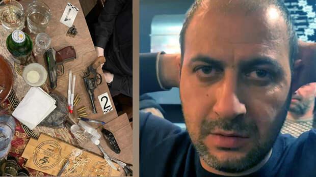 В Петербурге в ресторане армянской кухни задержали мигрантов с оружием