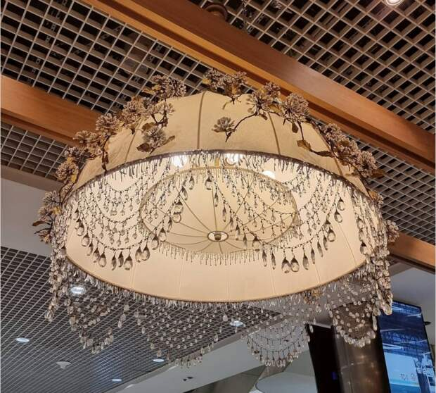 Лампа с шишками