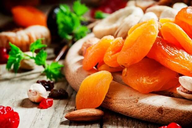 Диета на сухофруктах для похудения и отличного пищеварения
