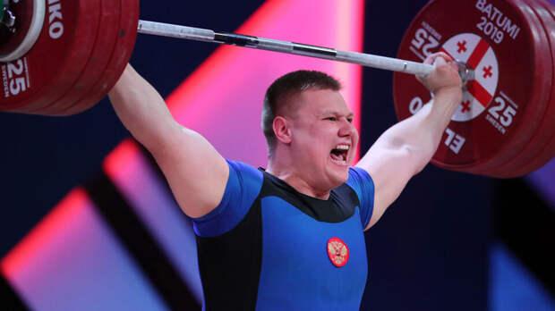 Тяжелоатлет Бочков отстранен за нарушение антидопинговых правил
