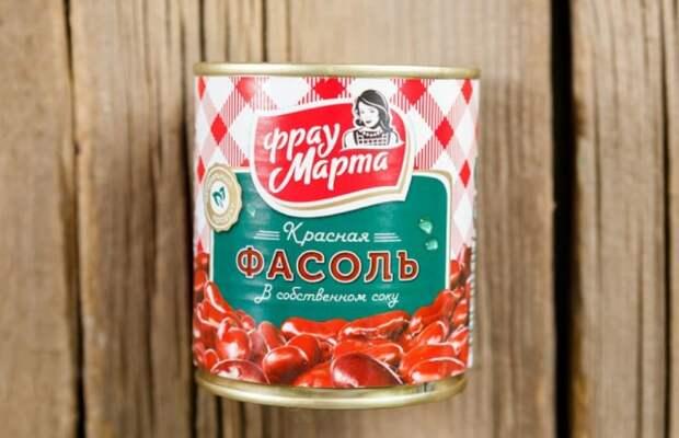 С консервированной фасолью блюда готовятся намного быстрее / Фото: protprom.ru