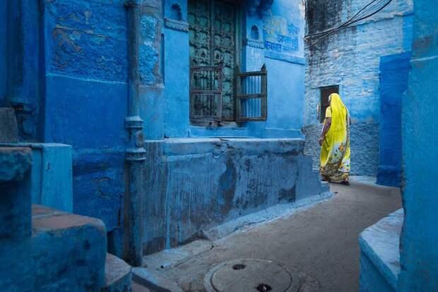 Лазурный Джодхпур — сказочный город вИндии