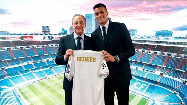 Рейньер— новый Кака для «Реала». Бразильского янгстера официально презентовали