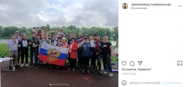 Полсотни жителей Молжаниновского порыбачили в Черкизове
