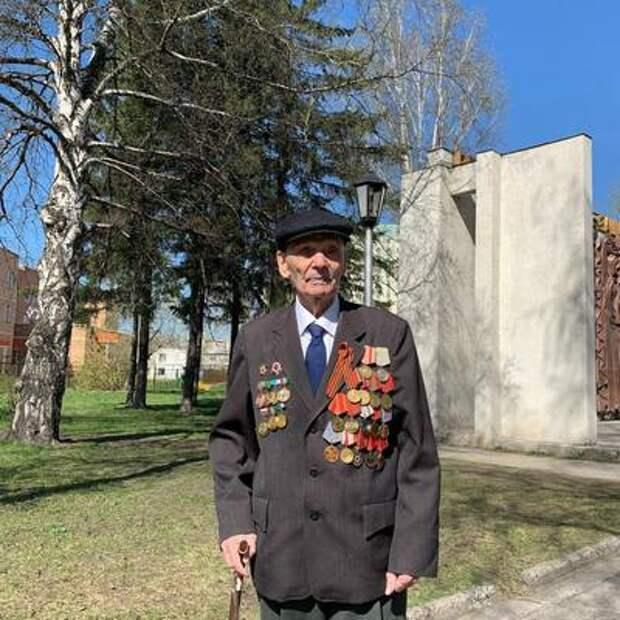В Новосибирске ветерана не поздравили с Днём Победы