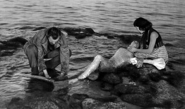 Как Вертинская и Коренев чуть не погибли на съемках «Человека-амфибии»