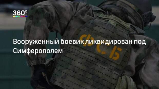 Вооруженный боевик ликвидирован под Симферополем