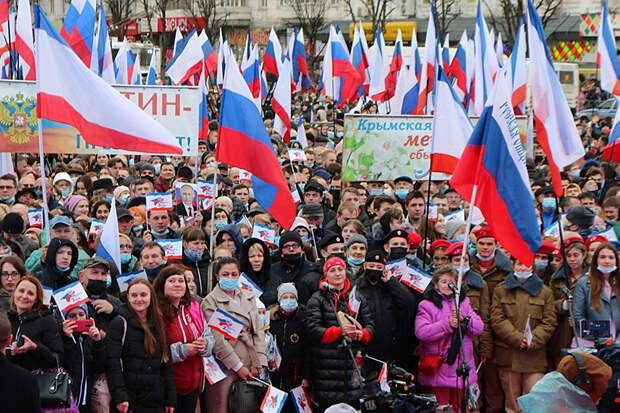 Киев открыл дело против выступавших на открытии Крымского моста артистов