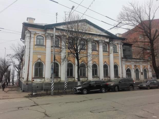 В Саратове продается особняк вице-губернатора XIX века