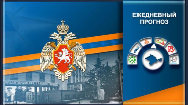 Оперативный прогноз ЧС в Крыму на 25 июля