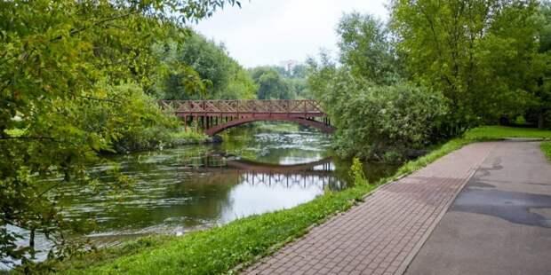 Наталья Сергунина рассказала о новых точках притяжения в парках Москвы. Фото: М. Денисов mos.ru