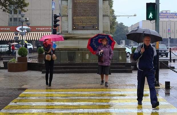 На Кубани прогнозируют дожди и до 11 градусов тепла