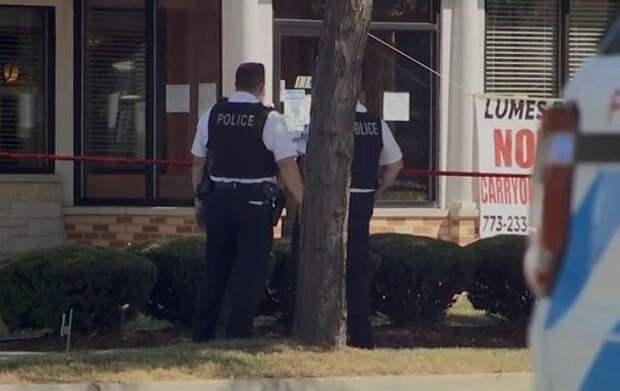 В Чикаго обстреляли кафе, один погибший