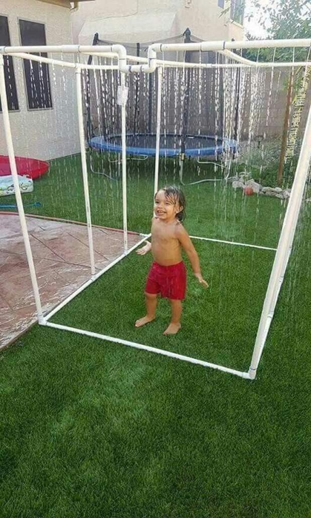 Такой душ принесет радость не только детям.