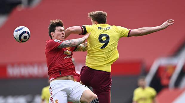 «Манчестер Юнайтед» победил «Бернли» в матче АПЛ