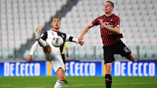 «Ювентус» несмог обыграть «Милан», новышел вфинал Кубка Италии. Роналду нереализовал пенальти