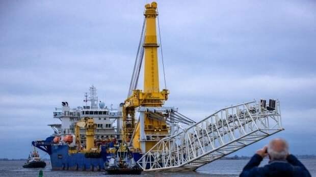 Строительство Северного потока-2 может завершиться втечение года