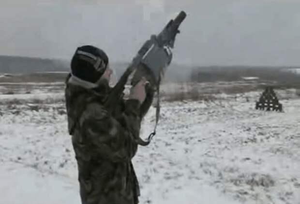 """Украина представила барабанный гранатомет """"Шустер-40"""" """"собственной"""" разработки"""