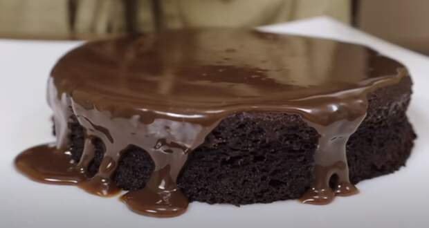 Без сахара и муки! Шоколадный торт за 5 минут приготовления