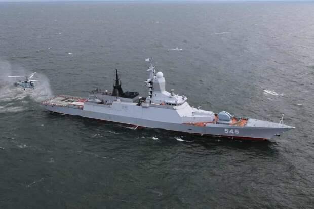 """Корвет """"Стойкий"""" начал проводку гражданского судна в Аденском заливе"""