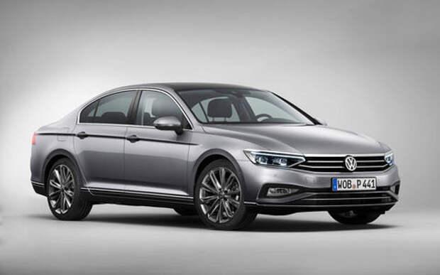 Начались продажи нового VW Passat. Пока в Европе